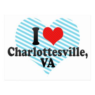 I Love Charlottesville,+VA Postcard