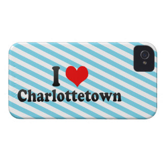 I Love Charlottetown, Canada iPhone 4 Cases