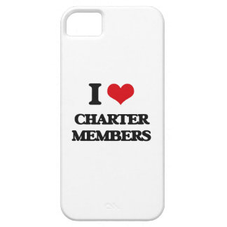 I love Charter Members iPhone 5 Cover