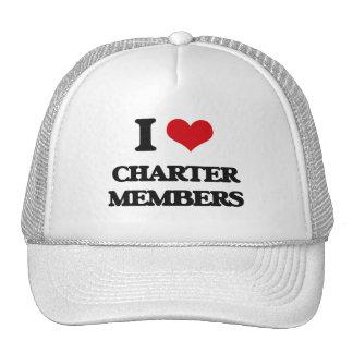 I love Charter Members Mesh Hats