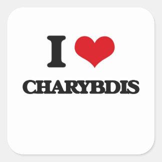 I love Charybdis Square Sticker