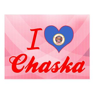 I Love Chaska, Minnesota Postcard