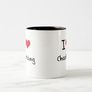 I love Chastising Two-Tone Coffee Mug