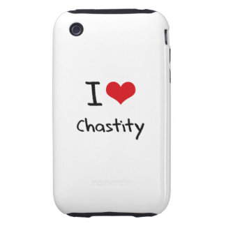I love Chastity Tough iPhone 3 Cases