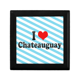 I Love Chateauguay Canada Jewelry Box