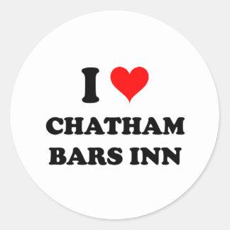 I Love Chatham Bars Inn Classic Round Sticker