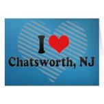 I Love Chatsworth, NJ Greeting Card