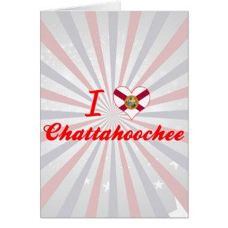 I Love Chattahoochee, Florida Greeting Cards