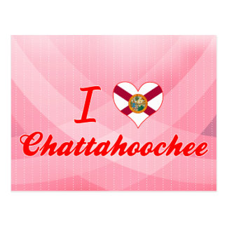 I Love Chattahoochee, Florida Post Card