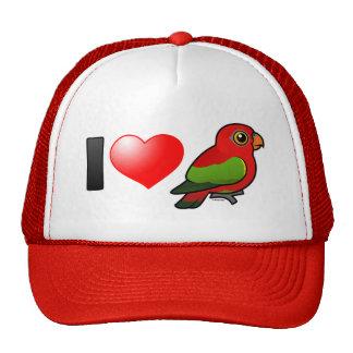 I Love Chattering Lories Trucker Hat