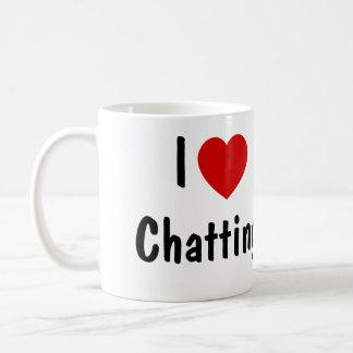 I Love Chatting Coffee Mug