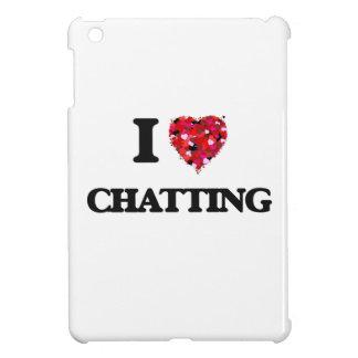 I Love Chatting iPad Mini Cover