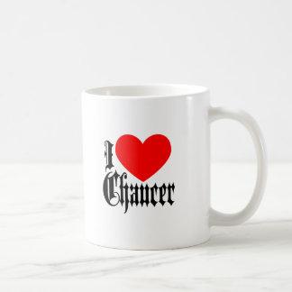I Love Chaucer Coffee Mug