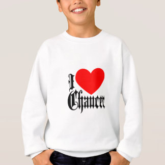 I Love Chaucer Sweatshirt