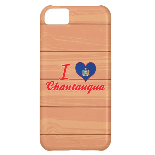 I Love Chautauqua, New York iPhone 5C Covers