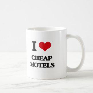 I love Cheap Motels Classic White Coffee Mug
