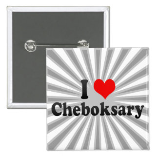 I Love Cheboksary, Russia Pins