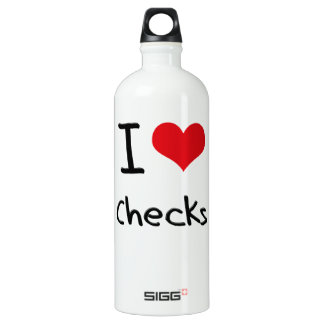 I love Checks SIGG Traveler 1.0L Water Bottle