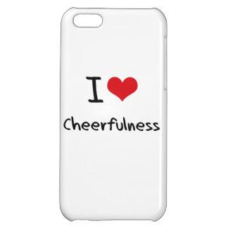 I love Cheerfulness iPhone 5C Covers