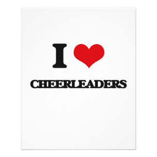 I love Cheerleaders Personalized Flyer