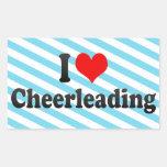 I love Cheerleading Sticker