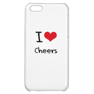 I love Cheers iPhone 5C Cover