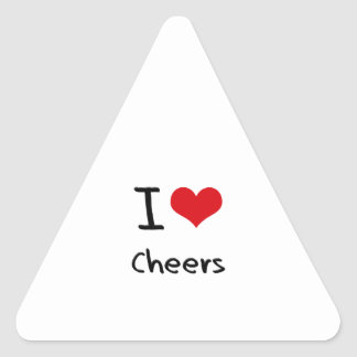 I love Cheers Sticker