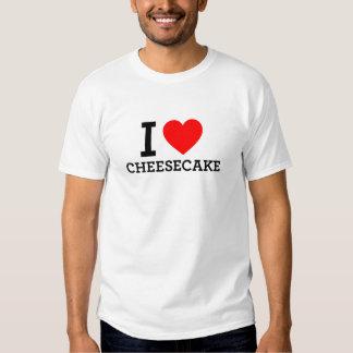 I Love Cheese Cake Shirt