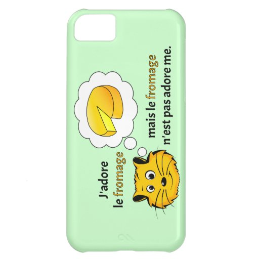 I love cheese cover for iPhone 5C