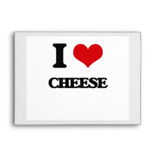 I love Cheese Envelopes