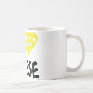 I love cheese icon coffee mug