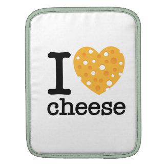 I Love Cheese iPad Sleeve