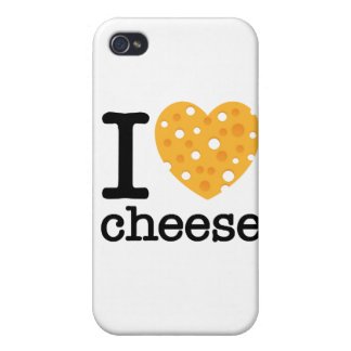 I Love Cheese Cases For iPhone 4