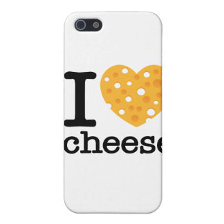 I Love Cheese iPhone 5 Cover