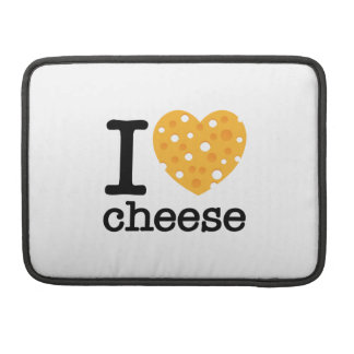 I Love Cheese MacBook Pro Sleeves