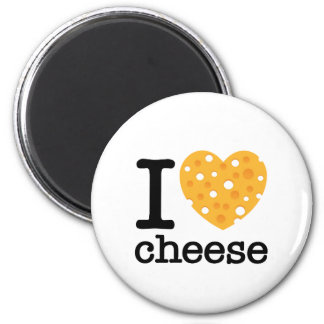 I Love Cheese Refrigerator Magnets