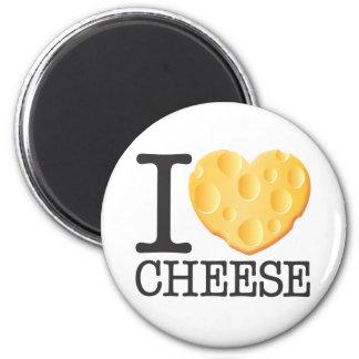 I Love Cheese Fridge Magnet