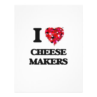 """I love Cheese Makers 8.5"""" X 11"""" Flyer"""