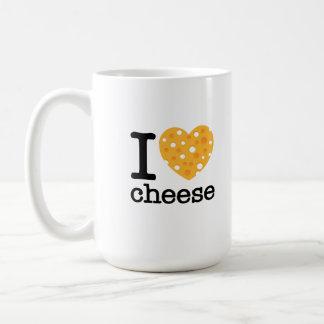 I Love Cheese Classic White Coffee Mug
