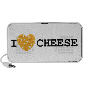 I Love Cheese iPhone Speakers
