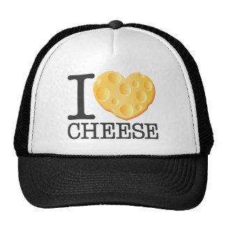 I Love Cheese Trucker Hat
