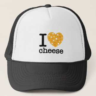 I Love Cheese Trucker Hat