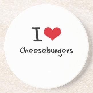I love Cheeseburgers Coasters