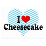 I Love Cheesecake Postcards