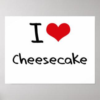 I love Cheesecake Poster