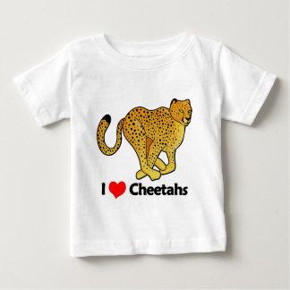 I Love Cheetahs Baby T-Shirt