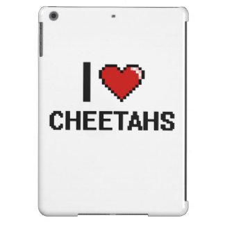 I love Cheetahs Digital Design iPad Air Cover