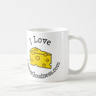 I Love CheezyGoodness.com Coffee Mug