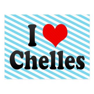 I Love Chelles, France Postcard