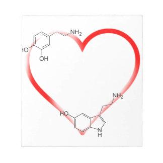 I love Chem Memo Note Pads